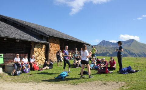 Damenriege im Berner Oberland