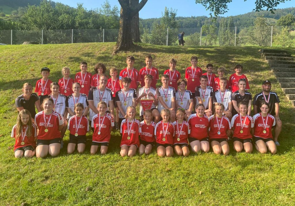 Schlussrunde Regional-MS Korbball Jugend 2021